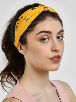 Blueberry Floral Print Headband