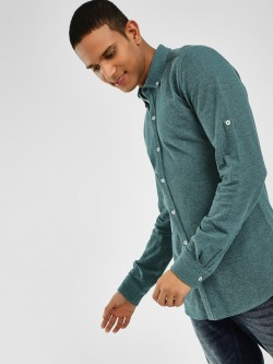 PostFold Casual Pique Knitted Shirt