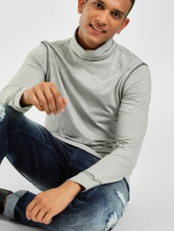 PostFold Turtleneck Long Sleeve T-Shirt