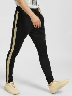Blue Saint Contrast Side Tape Skinny Joggers