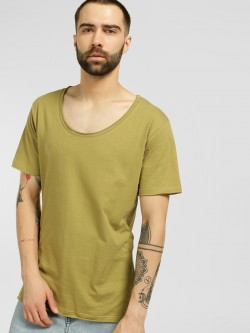Blue Saint Basic Scoop Neck T-Shirt