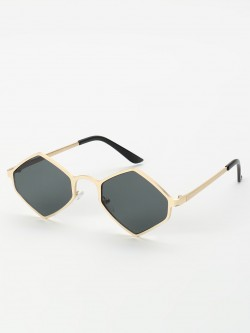 Sneak-a-Peek Hexagon Retro Sunglasses