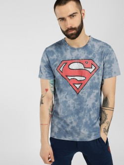 Free Authority Superman Tie & Dye T-Shirt