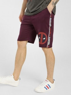 Free Authority Deadpool Side Tape Shorts