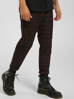 KOOVS Windowpane Check Cropped...