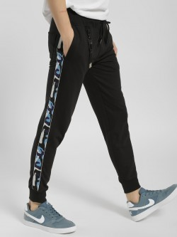 Deezeno Printed Side Tape Joggers
