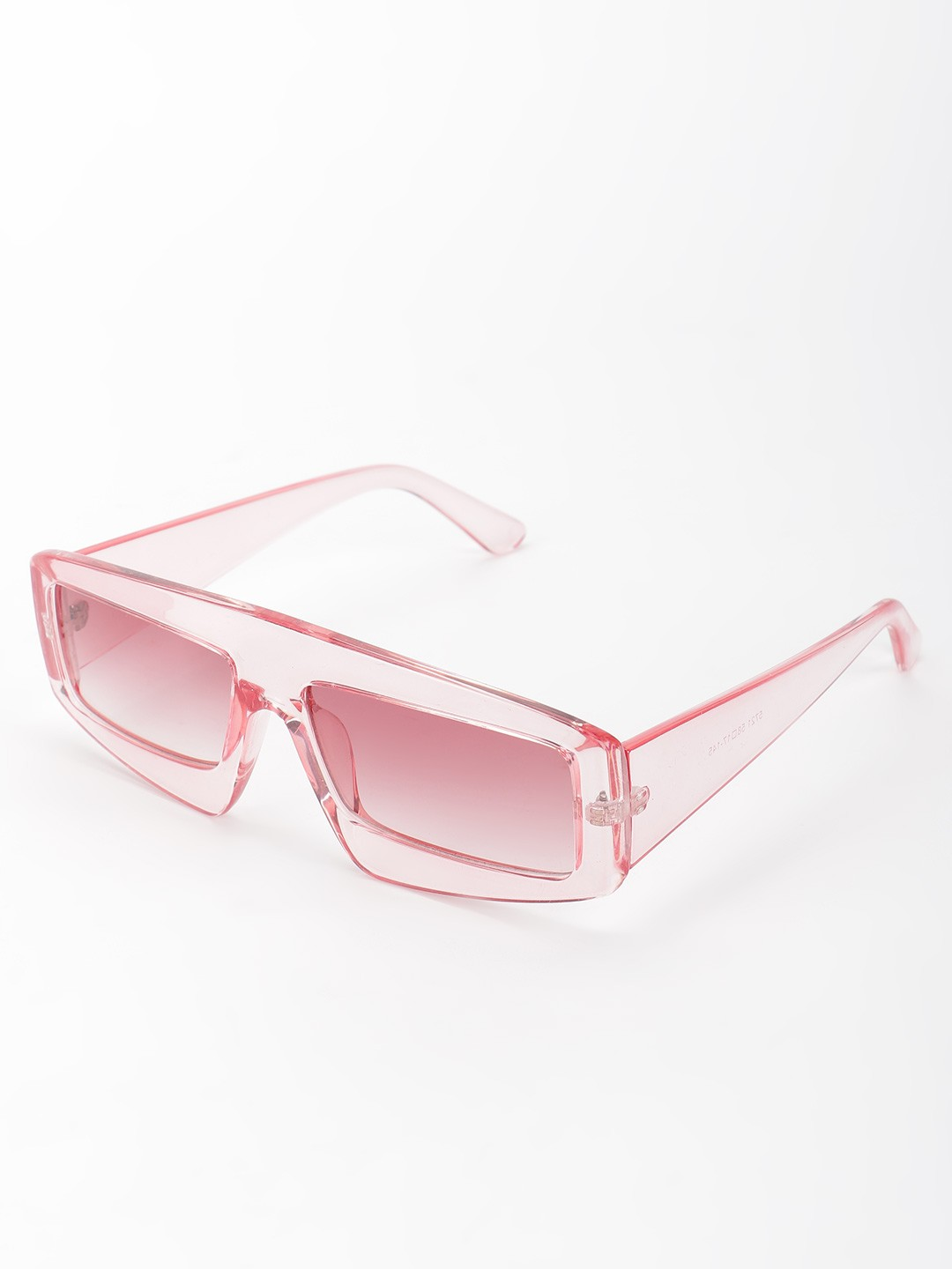 Style Fiesta Pink Coloured Lens Microlab Retro Sunglasses 1