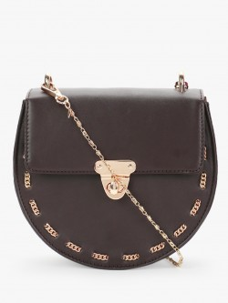 Gusto Structural Chain Detail Sling Bag