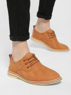 KOOVS Suede Derby Formal Shoes