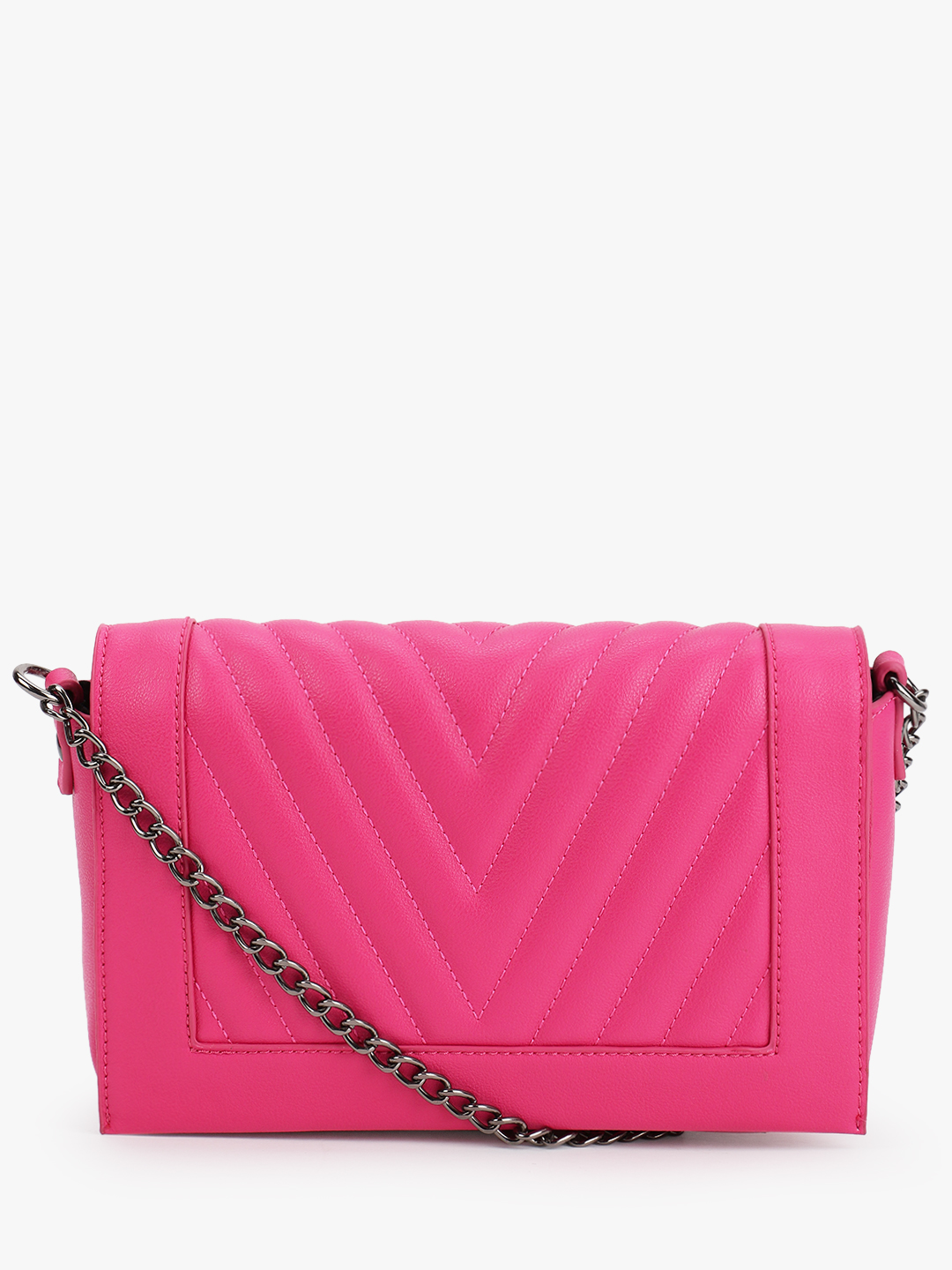 Only Pink Florence Quilted Sling Bag 1