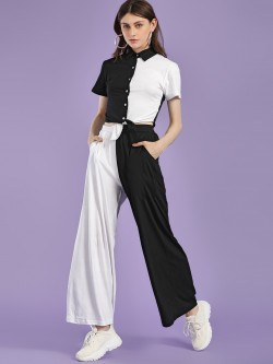 Spring Break Colour Block Palazzo Pants