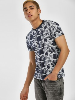 Blotch Digital Camo Print T-Shirt