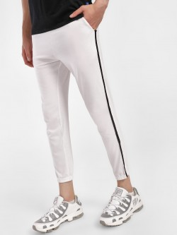 Blotch Contrast Side Tape Slim Joggers