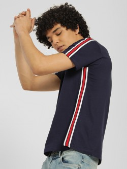 Garcon Contrast Side Tape T-Shirt