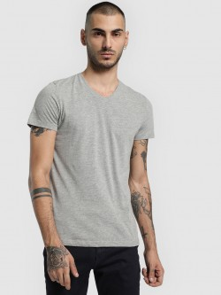 Being Human Logo Embroidered Basic T-Shirt
