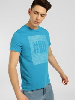 Being Human Logo Placement Print T-Shirt