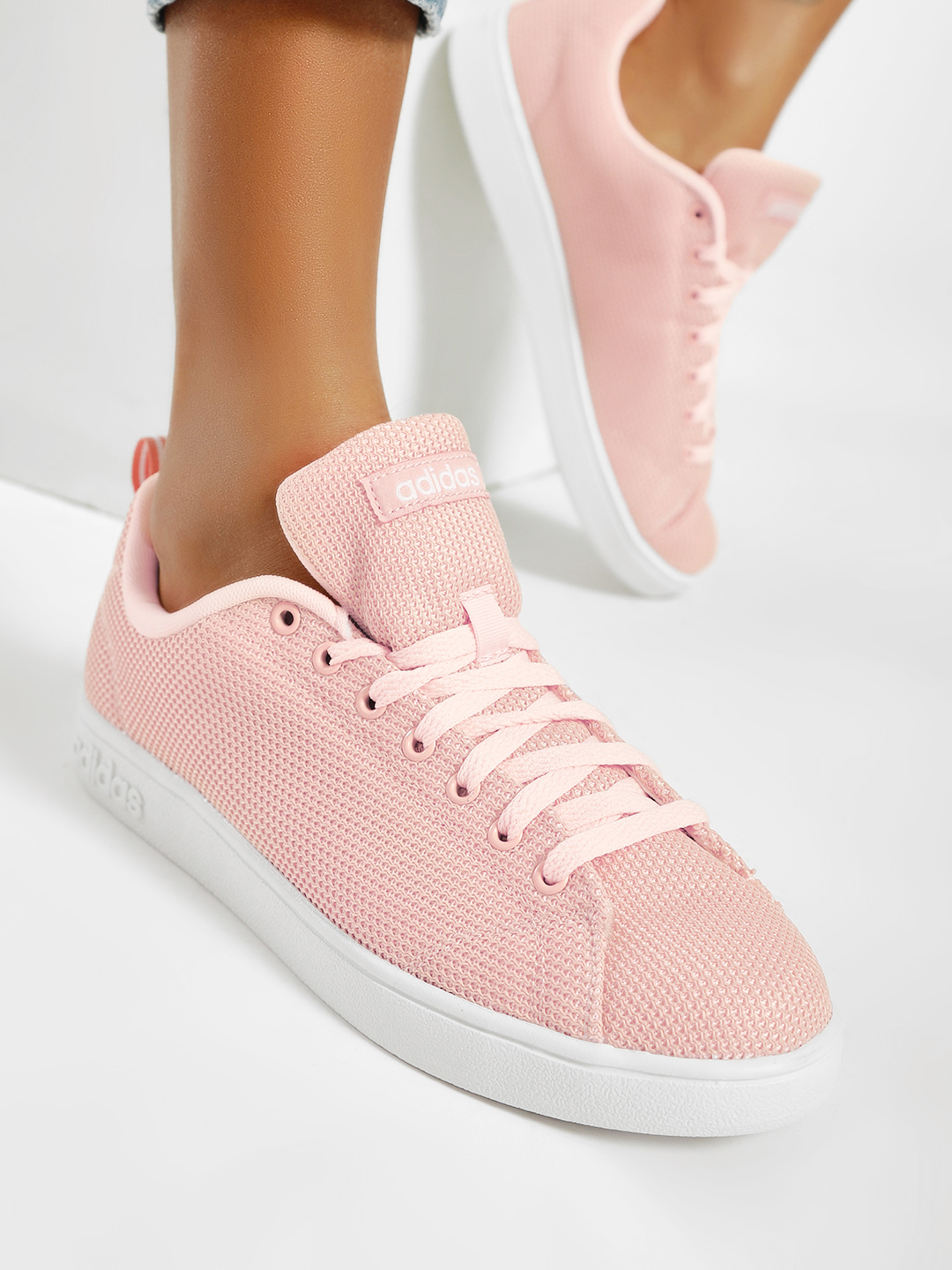Adidas Pink Vs Advantage CL Sneakers 1