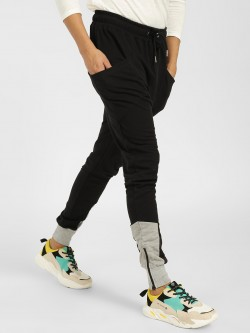 SKULT By Shahid Kapoor Colour Block Panelled Joggers