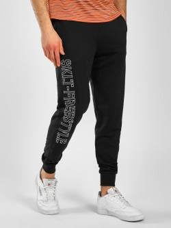 SKULT By Shahid Kapoor Side Embroidered Text Joggers