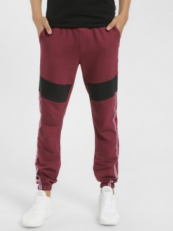 X.O.Y.O Cut & Sew Side Tape Joggers