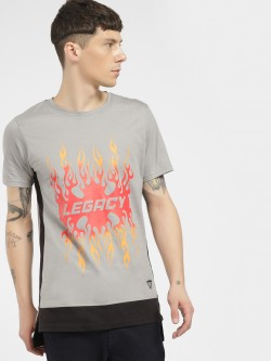 Styx & Stones Legacy Flame Side Tape T-Shirt