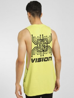 KOOVS Vision Placement Print Vest
