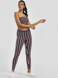 Iris Vertical Stripe Leggings