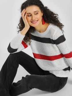 Only Colour Block Knit Top