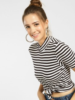 Vero Moda Horizontal Striped T-Shirt