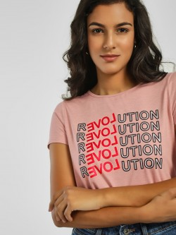 Vero Moda Love Revolution Print T-Shirt