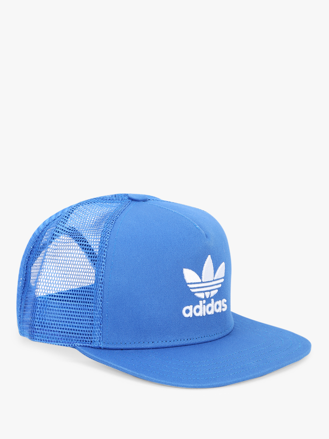 Adidas Originals Blue Trefoil Trucker Cap 1