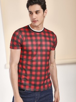 Garcon Mesh Gingham Check T-Shirt