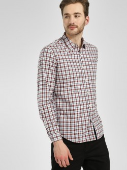 Indigo Nation Multi-Check Casual Shirt