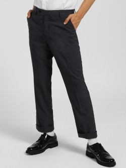 Indigo Nation Slim Fit Formal Trousers