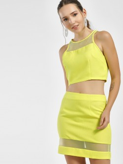 Moguland Mesh Panel Co-ord Set