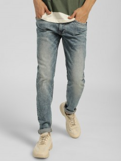 Celio Acid Wash Slim Fit Jeans