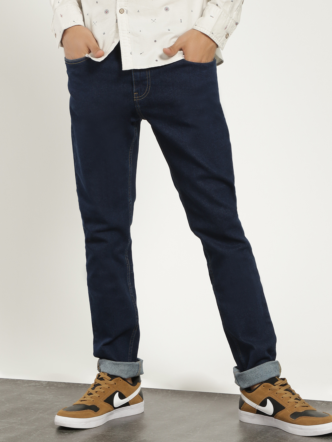 Blue Saint Blue Basic Slim Fit Jeans 1