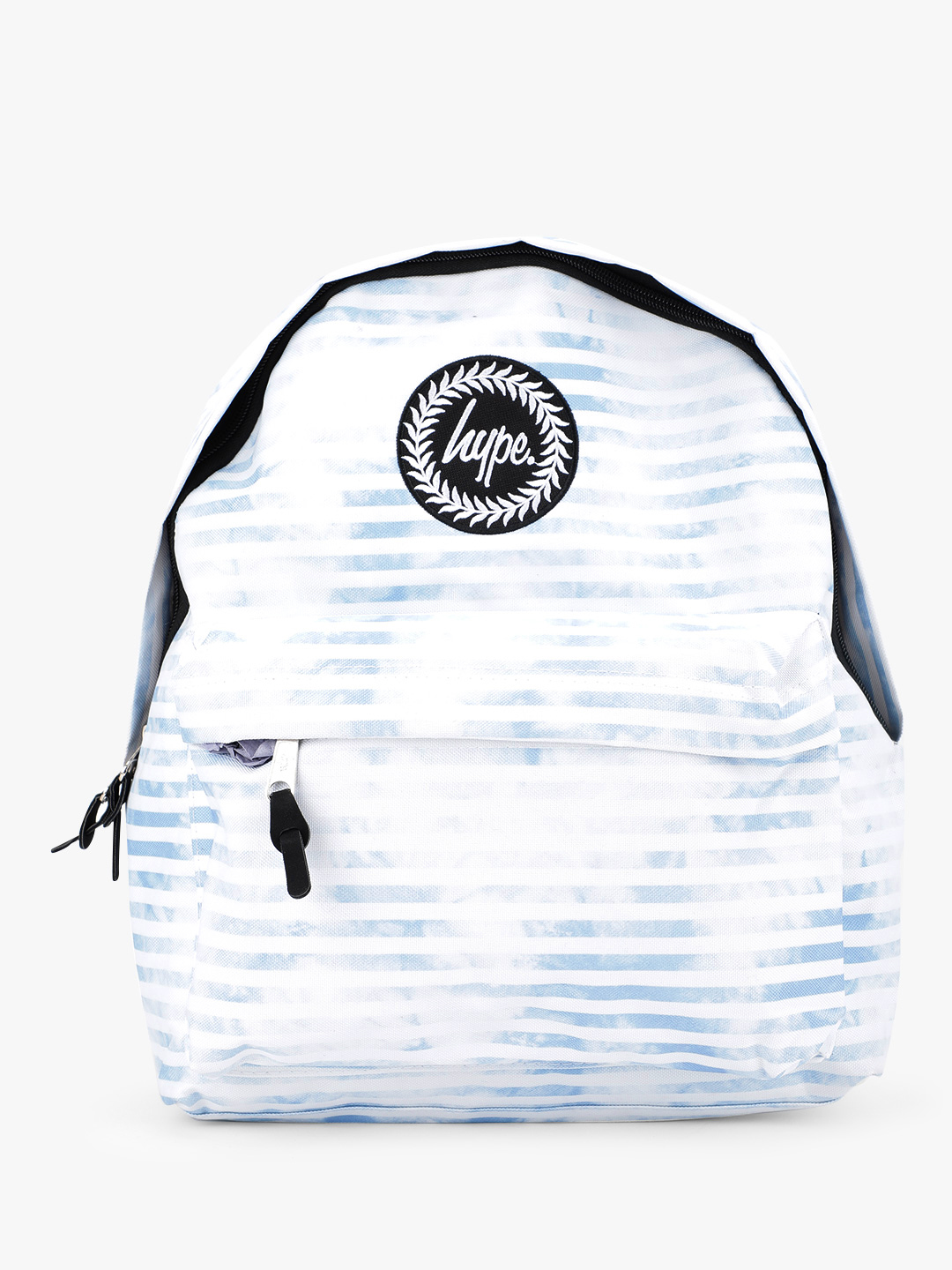 Hype Blue Cloud Stripe Backpack 1