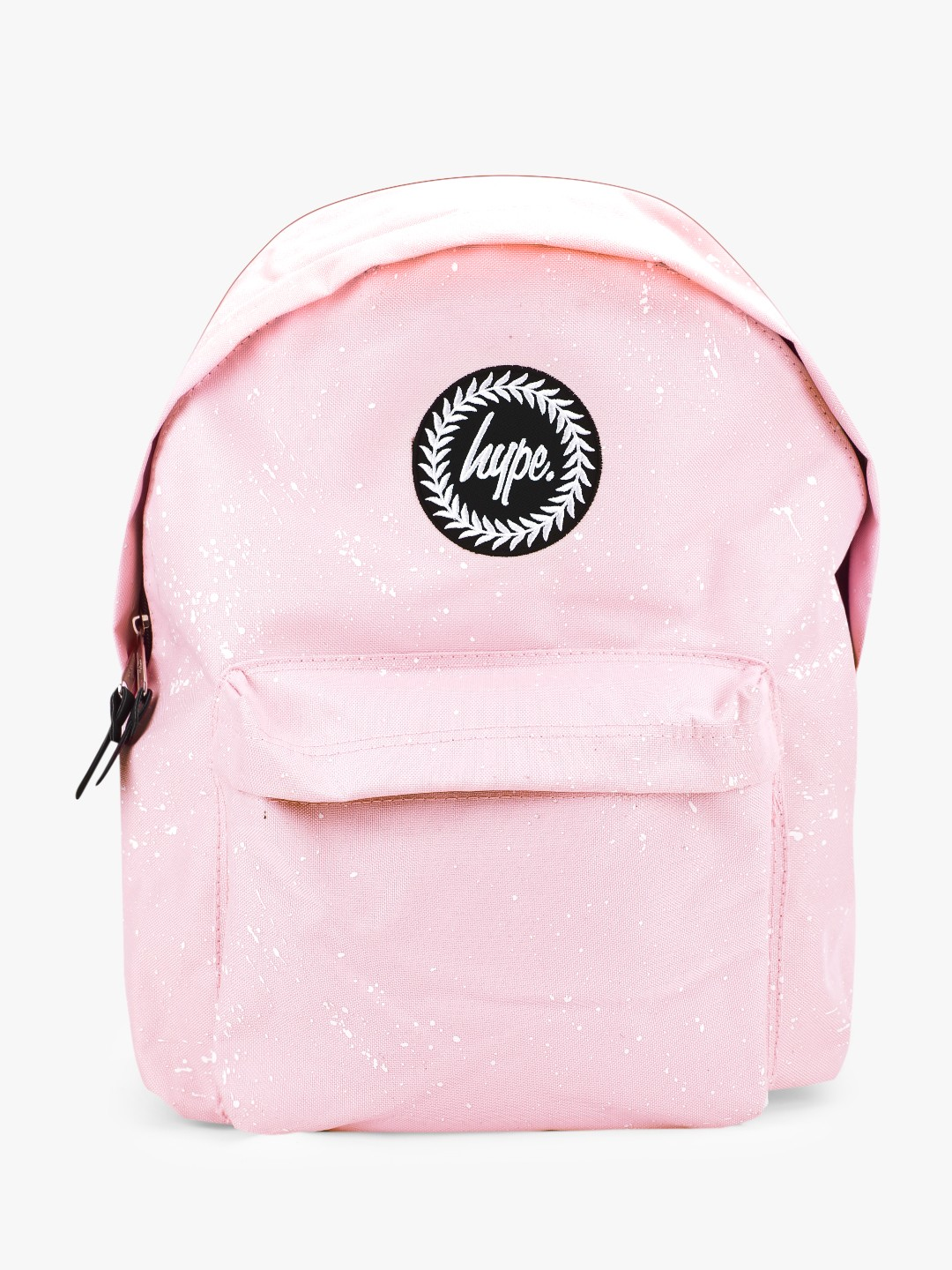 Hype Pink Splatter Print Backpack 1