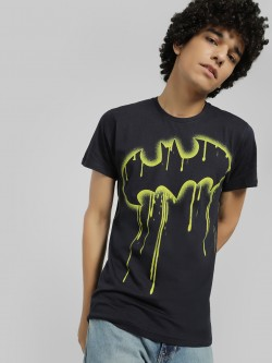 Free Authority Batman Splash Print T-Shirt