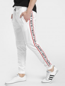 Soulstar Side Text Tape Joggers