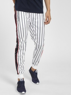 Soulstar Vertical Stripe Side Tape Joggers