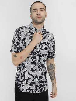 Soulstar Tropical Print Casual Shirt