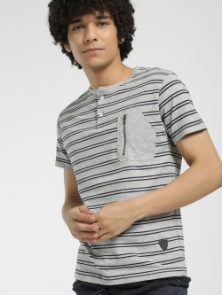 Soulstar Horizontal Stripe T-Shirt