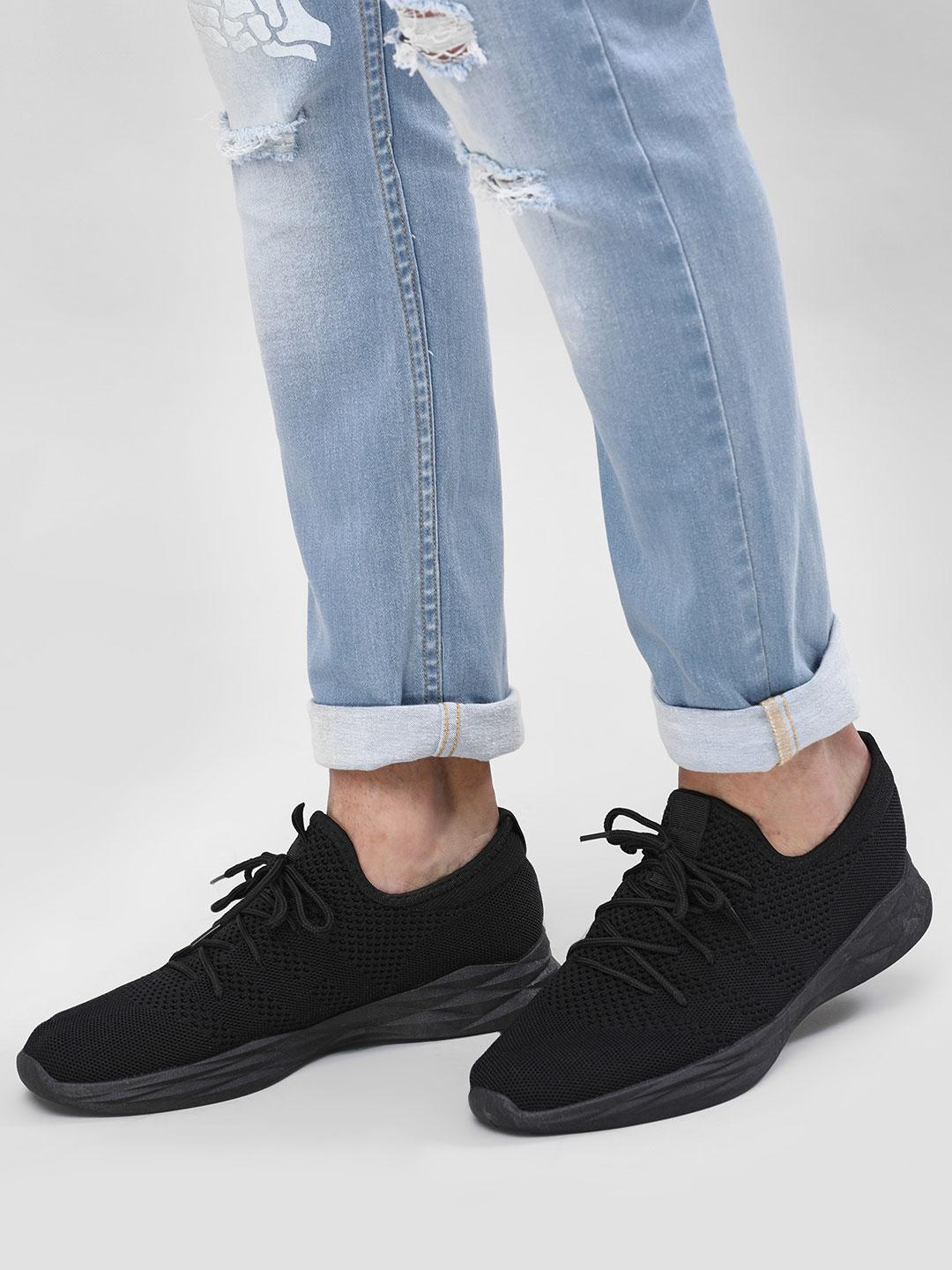 KOOVS Black Ice Sole Sneakers 1
