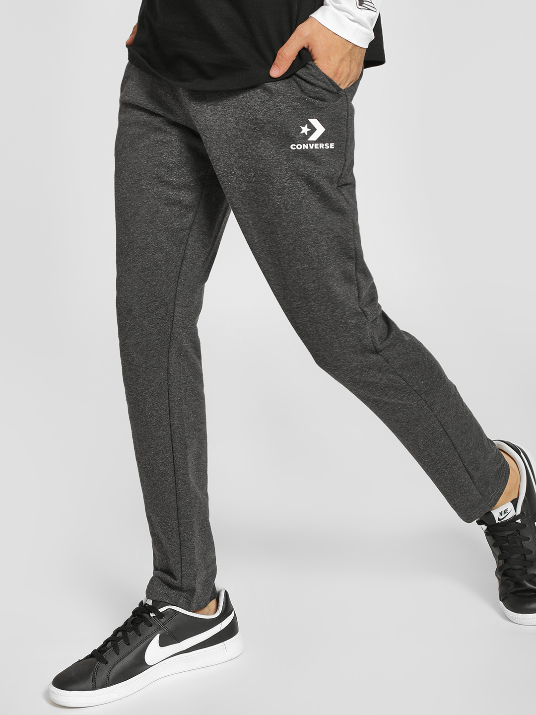 Converse Grey Basic Drawcord Jog Pants 1