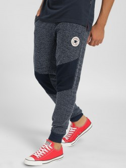 Converse Woven Texture Contrast Panel Joggers