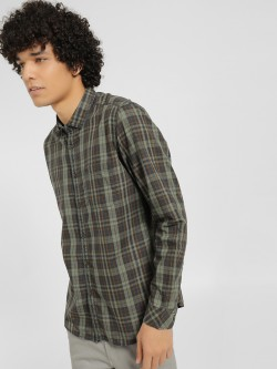 Indigo Nation Multi Check Casual Shirt