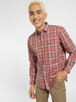 Indigo Nation Multi-Check Slim Fit Shirt