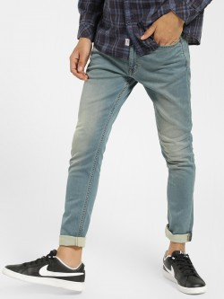 Indigo Nation Light Wash Skinny Fit Jeans